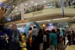 Keramaian pengunjung di launching New Mio M3 125 di Tangerang