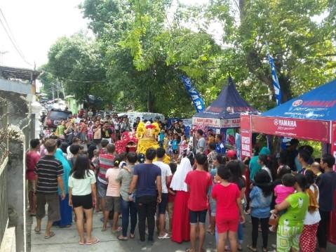 Atraksi Barongsai di Hari Raya Imlek 2016 bersama Yamaha (2)
